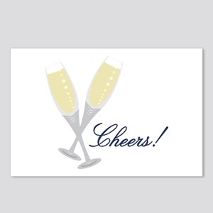 Champagne Cheers Postcards (Package of 8)
