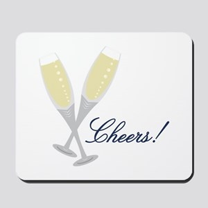 Champagne Cheers Mousepad