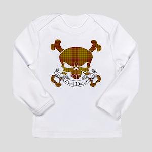 MacMillan Tartan Skull Long Sleeve Infant T-Shirt