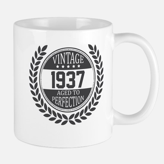 Vintage 1937 Aged To Perfection Mugs