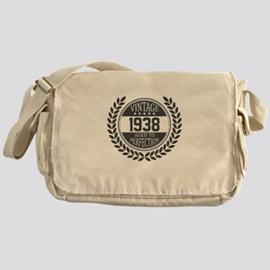 Vintage 1938 Aged To Perfection Messenger Bag