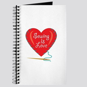 Sewing Is Love Journal