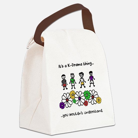 Cute Bums Canvas Lunch Bag