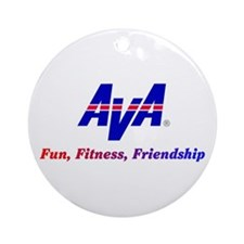 AVA Fun, Fitness, Friendship Ornament (Round)