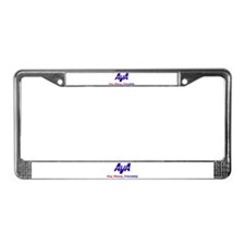 AVA Fun, Fitness, Friendship License Plate Frame
