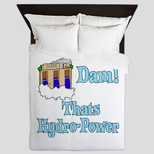 Dam! thats hydro-power Queen Duvet