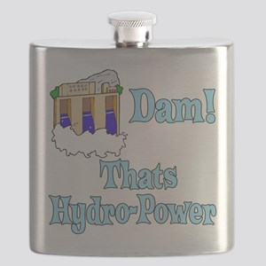 Dam! thats hydro-power Flask