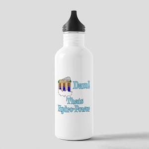 Dam! thats hydro-power Water Bottle