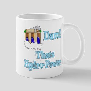 Dam! thats hydro-power Mugs