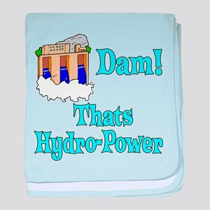 Dam! thats hydro-power baby blanket