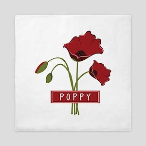 Poppy Queen Duvet