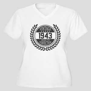 Vintage 1943 Aged To Perfection Plus Size T-Shirt