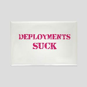 Deployments Suck Rectangle Magnet