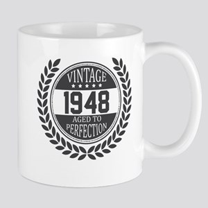 Vintage 1948 Aged To Perfection Mugs