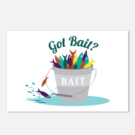 Got Bait? Postcards (Package of 8)