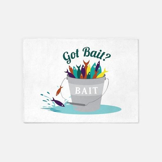 Got Bait? 5'x7'Area Rug