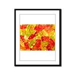 Gummi Bears Framed Panel Print