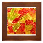 Gummi Bears Framed Tile