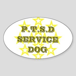 SERVICE DOG Sticker