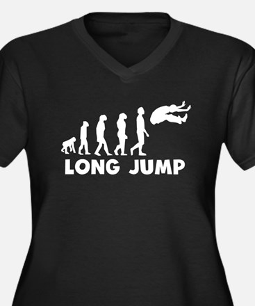 Long Jump Evolution Plus Size T-Shirt