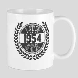 Vintage 1954 Aged To Perfection Mugs