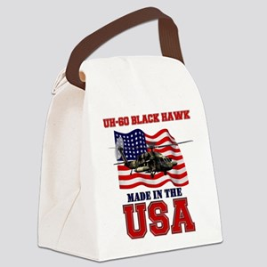 UH-60 Black Hawk Canvas Lunch Bag