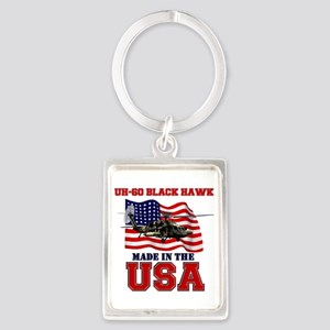 UH-60 Black Hawk Portrait Keychain
