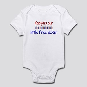 Kaelyn Firecracker Infant Bodysuit