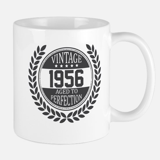 Vintage 1956 Aged To Perfection Mugs
