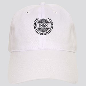 Vintage 1958 Aged To Perfection Baseball Cap
