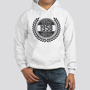 Vintage 1958 Aged To Perfection Hoodie