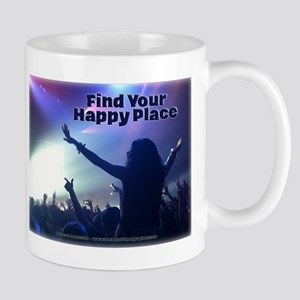 Music Show - Find Your Happy Place Mugs