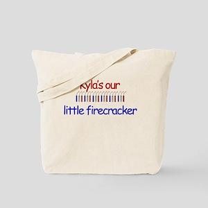 Kyla Firecracker Tote Bag