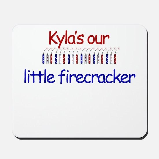 Kyla Firecracker Mousepad