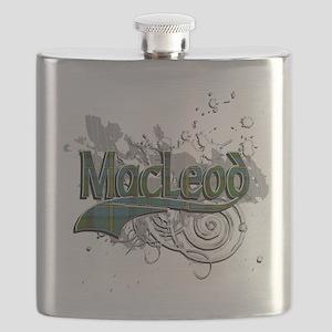 MacLeod Tartan Grunge Flask