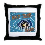 Keep Mum Chum War Poster Throw Pillow