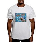 Keep Mum Chum War Poster Light T-Shirt