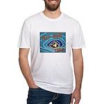 Keep Mum Chum War Poster Fitted T-Shirt