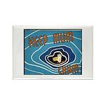 Keep Mum Chum War Poster Rectangle Magnet (100 pac