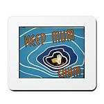 Keep Mum Chum War Poster Mousepad