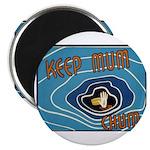 Keep Mum Chum War Poster Magnet