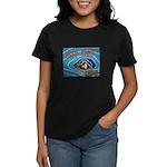 Keep Mum Chum War Poster Women's Dark T-Shirt