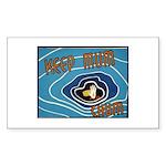 Keep Mum Chum War Poster Rectangle Sticker