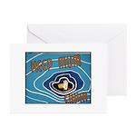 Keep Mum Chum War Poster Greeting Cards (Package o