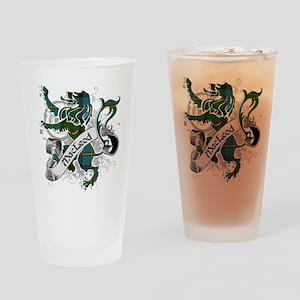 MacLeod Tartan Lion Drinking Glass
