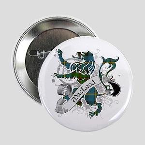 "MacLeod Tartan Lion 2.25"" Button"
