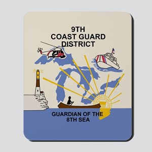 9th Coast Guard District <BR>Mouse Pad