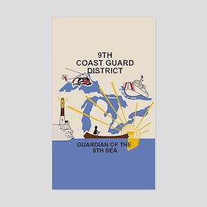 9th Coast Guard District <BR>Sticker
