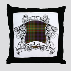 MacLellan Tartan Shield Throw Pillow