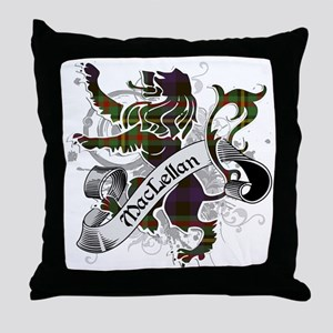 MacLellan Tartan Lion Throw Pillow